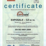 We successfully defended the ISO 9001:2009 certificate