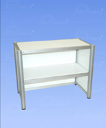2302 - sales counter with shelf
