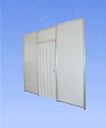 2601 - dveře shrnovací (zamykací)