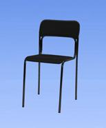 3003 - židle chromová, plast