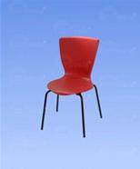 3012 - židle červená