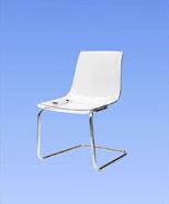 3013 - židle plastová čirá