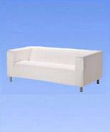 3106 - Klippan sofa, white
