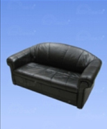 3117 - Leather sofa