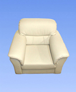 3121 - leather chair, bright