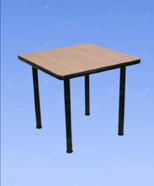 3202 - Table of laminate, wood