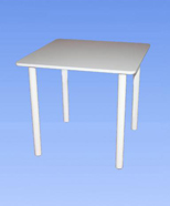 3203 - Table of laminate, white