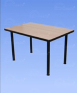 3204 - Table of laminate, wood
