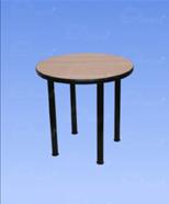 3214 - Table of laminate, wood