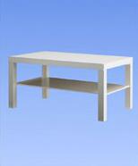 3233 - Lack table, white