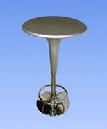 3242 - bar table, silver