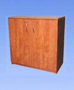 3402 - lockable cabinet, cherry